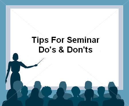 seminar, signa