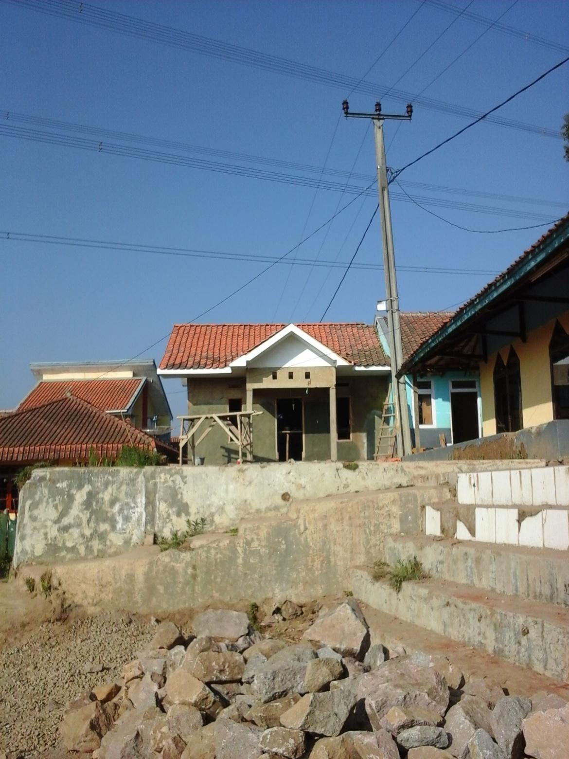 Pembangunan Posyandu di RW 24, dusun Lebaksari