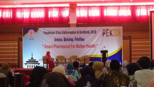 Seminar Nasional Produk Paten Farmasi 2018, Gelaran Istimewa untuk Para Apoteker