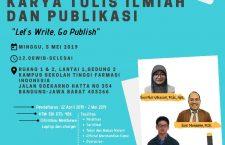 Pelatihan Karya Tulis Ilmiah & Publikasi dan Lomba Internal Karya Tulis Ilmiah